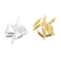 20pcs screw lock clasps connectors for necklace bracelet jewelry findings