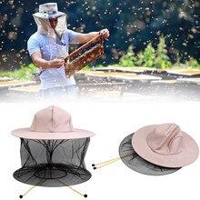 40^Agriculture Bee Tools Double Tiers Hat Protective Net Bee Cap For Beekeeper Bee keeping Hat Anti-bee Beekeeping Equipment
