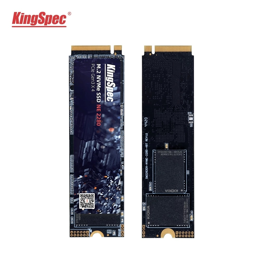 حار كينجسبيك M.2 NVME ssd M2 1 تيرا بايت PCIe NVME SSD 128GB 512GB 256gb 2 تيرا بايت محرك الحالة الصلبة 2280 قرص صلب داخلي hdd لسطح المكتب