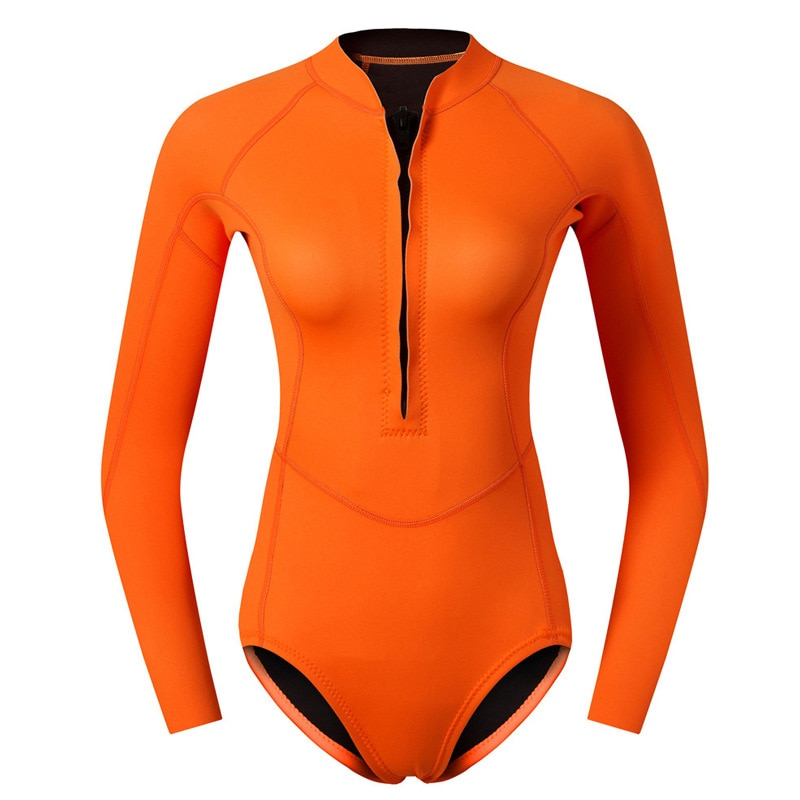 Women 2MM Neoprene Wetsuit Windsurf Kitesurf Underwater Scuba Underwater Surfing Wet Suit Spearfishing Snorkeling Diving Suit