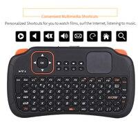 Беспроводная мини-клавиатура с тачпадом, 2,4 ГГц, 83 клавиши, для Samsung, LG, Android, ТВ-приставки, ПК, ноутбуков HTPC