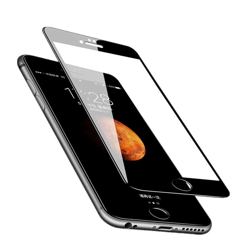 3D Full Protection Tempered Glass For iPhone 6s 7 8 X Screen Protector Film for iPhone 6 Plus 7 8 pl