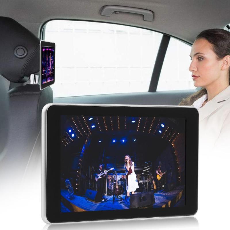 12V Universal 9inch Car Headrest Monitor Digital Color LCD 16:9 High Definition Screen Auto Head Rest Hanging Monitor Bracket