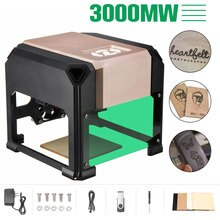 2000/3000mW USB bureau Laser graveur Machine Logo bricolage marque imprimante Cutter CNC Laser sculpture Machine 80x80mm gravure gamme