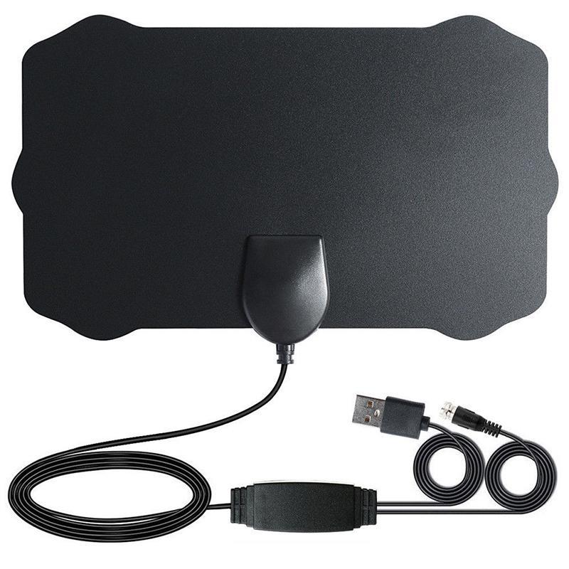 Antena Digital HD TV LumiParty 200 millas gama HD Skywire 4K Antena Digital interior 1080P TV Antena con amplificador de señal r20