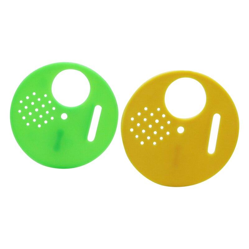 100 шт Пластиковые ульи двери для пчеловодства круглая коробка для пчеловодства Honeycombs оборудование для пчеловодства