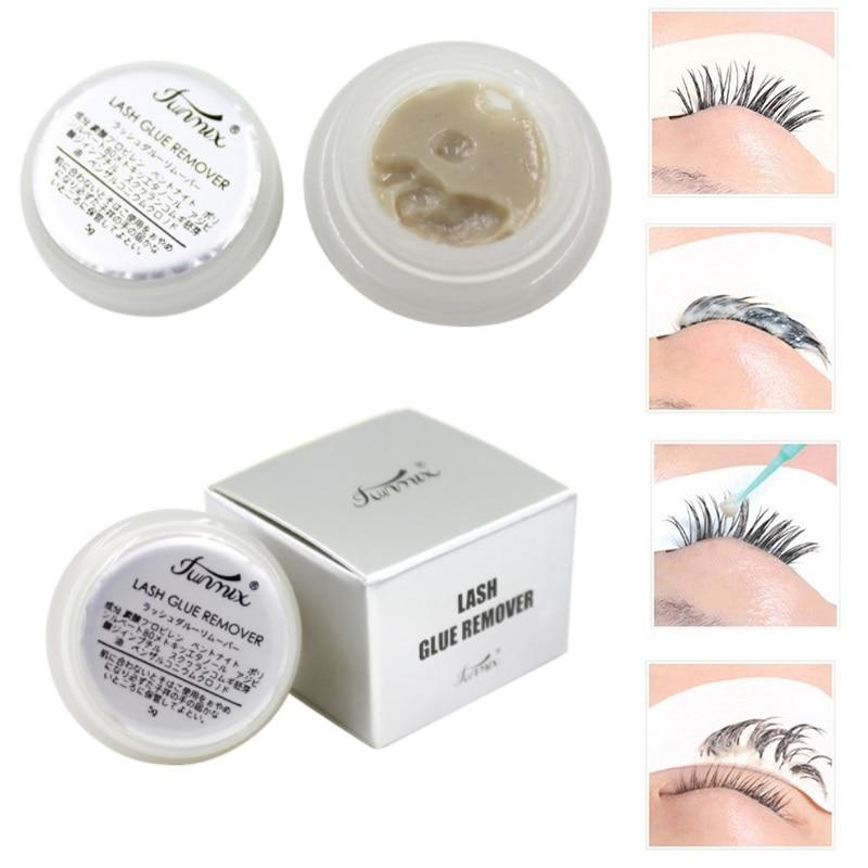 FUNMIX Hypoallergenic Grape Seed Oil Eyelash Glue Remover for False Eyelashes Mink False Eyelash Lash Extension TSLM2
