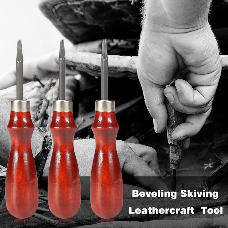0,8/1/1. Cortador de borde de cuero afilado de 2mm biselador, herramienta de corte artesanal de cuero, herramientas de corte de cuero artesanal