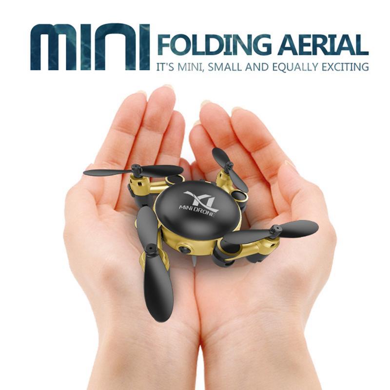 Mini Dron de bolsillo cuadricóptero con Control remoto para S18 con WIFI para teléfono móvil
