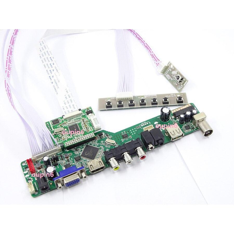 """TV HDMI VGA LED LCD EDP Placa de controlador para 15,6 """"LP156WF6-SPP2/LP156WF6-SPP1 1920x1080 panel de pantalla diy"""
