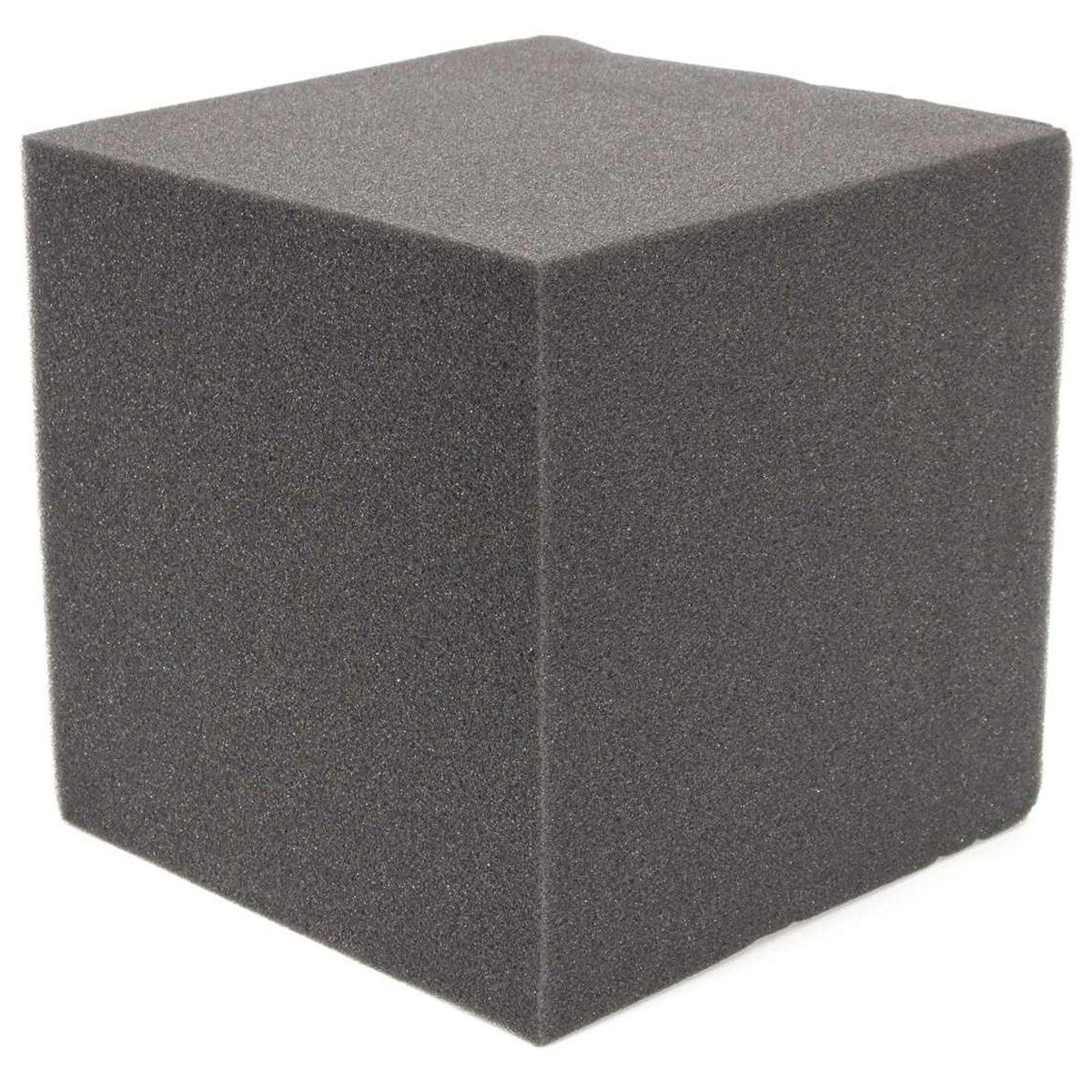 20x20x20cm 2 uds aislamiento acústico absorción de algodón sala de música acústica Panel de pared espuma acústica de algodón de poliuretano
