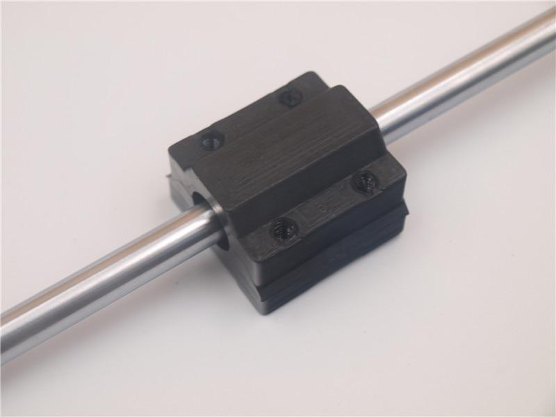 2pc solid polymer lm8uu ball bearing 8mm RJMP-01-08 Linear Motion Bearing pillow block for CNC Prusa i3 Anet 3d printer
