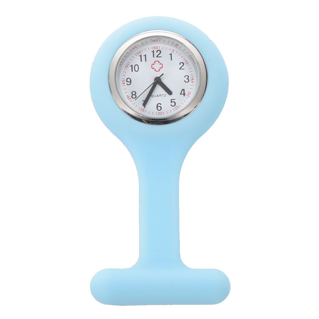 Elétrica/safira enfermeira silicone relógio