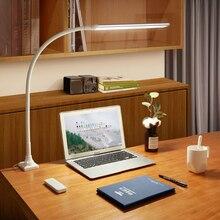 13 W Flessibile A Collo di Cigno Desk Ha Condotto La Lampada di Clip Del Desktop di Luce con Telecomando di Controllo e Cinque Luminosità e Cinque Temperatura di Colore