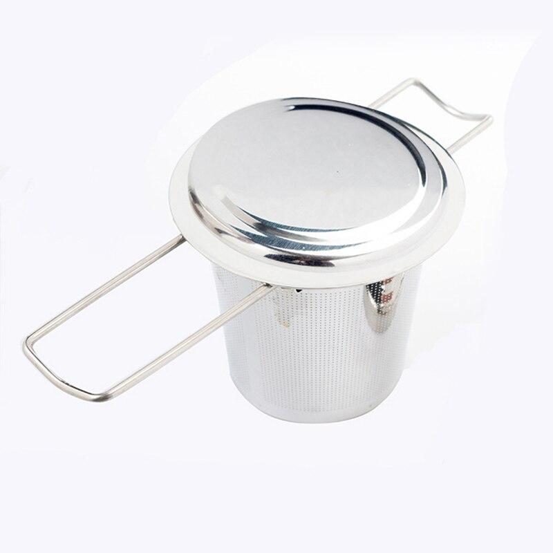 Сетчатый фильтр для заварки чая из нержавеющей стали Сверхтонкая сетка подходит