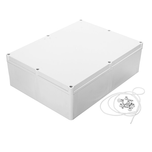 صندوق طاقة بلاستيكي مقاوم للماء ، 300 × 230 × 94 مللي متر ، افعلها بنفسك ، مبيت تقاطع إلكتروني ، صندوق طاقة مغلق