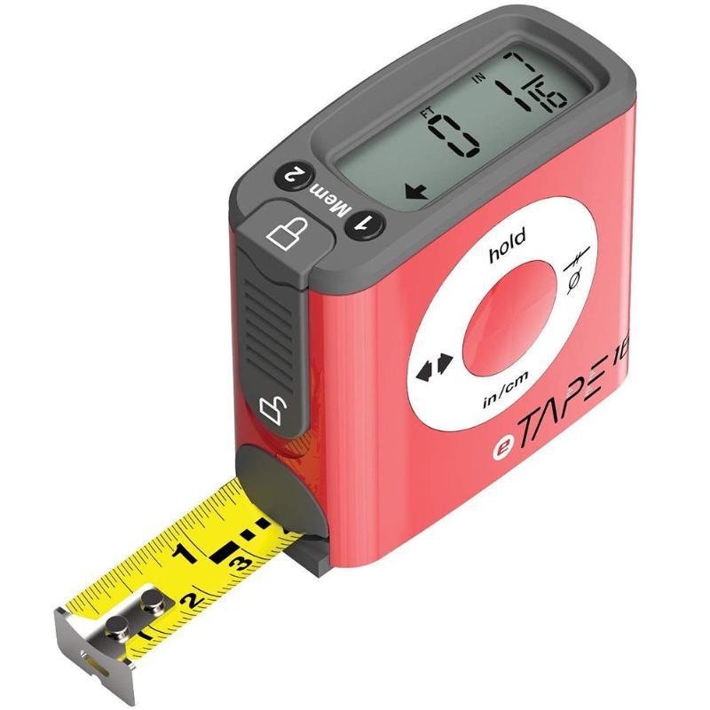 5m/16ft Digital Measuring Tape Accurate Electronic Steel Metric Gauge Tools 500 mm Measurement range Measuring Ruler