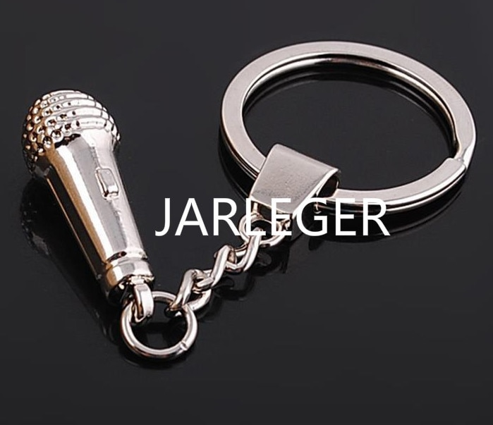 Модный Авто креативный Музыкальный Микрофон автомобильный брелок для Audi Ferrari Lexus