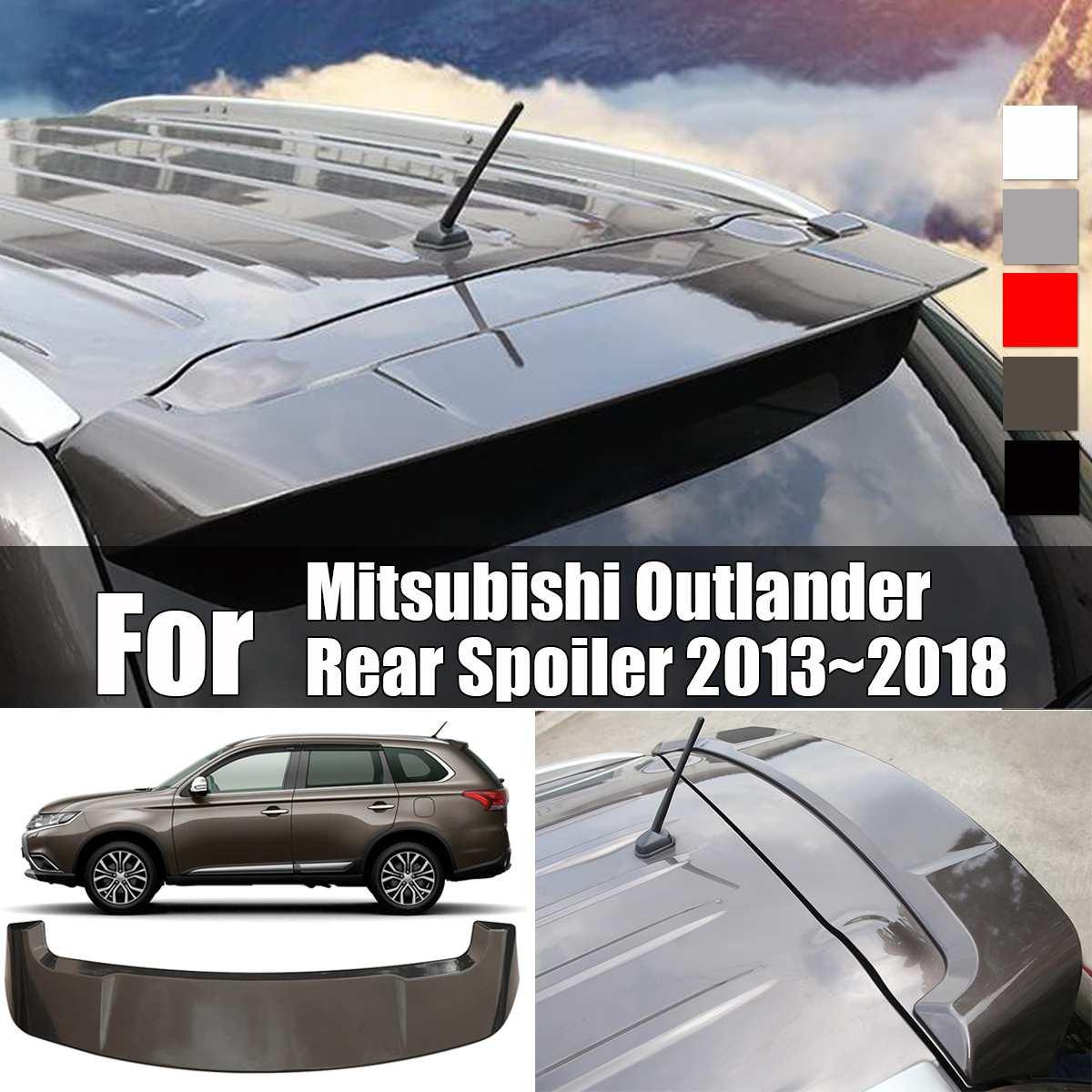 ABS Heckspoiler Stamm Boot Lip Flügel für Mitsubishi Outlander Hinten Spoiler 2013 ~ 2018 Farbe Fabrik Stil Hinten Dach spoiler