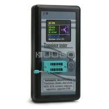 Détecteur de vérificateur automatique 5 pièces/lot/testeur de Transistor pour inducteurs/résistances/condensateurs/Diodes/bi-diodes/SCR/ESR/PNP/NPN/MOS