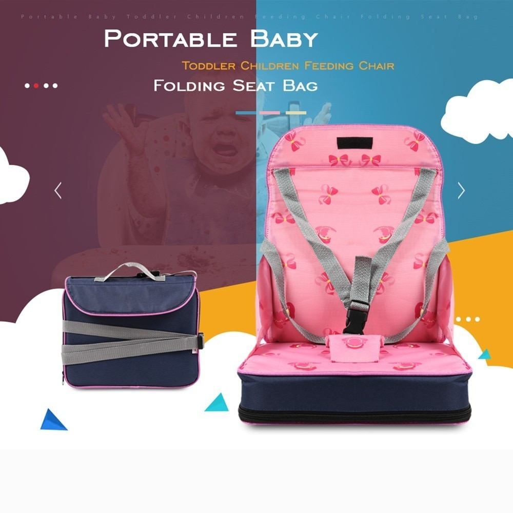 Baby Foldable Chair Bag Portable Newborn Soft Booster Safety Seat Multifunctional Mummy Travel Bag For Infant Nursing Feeding