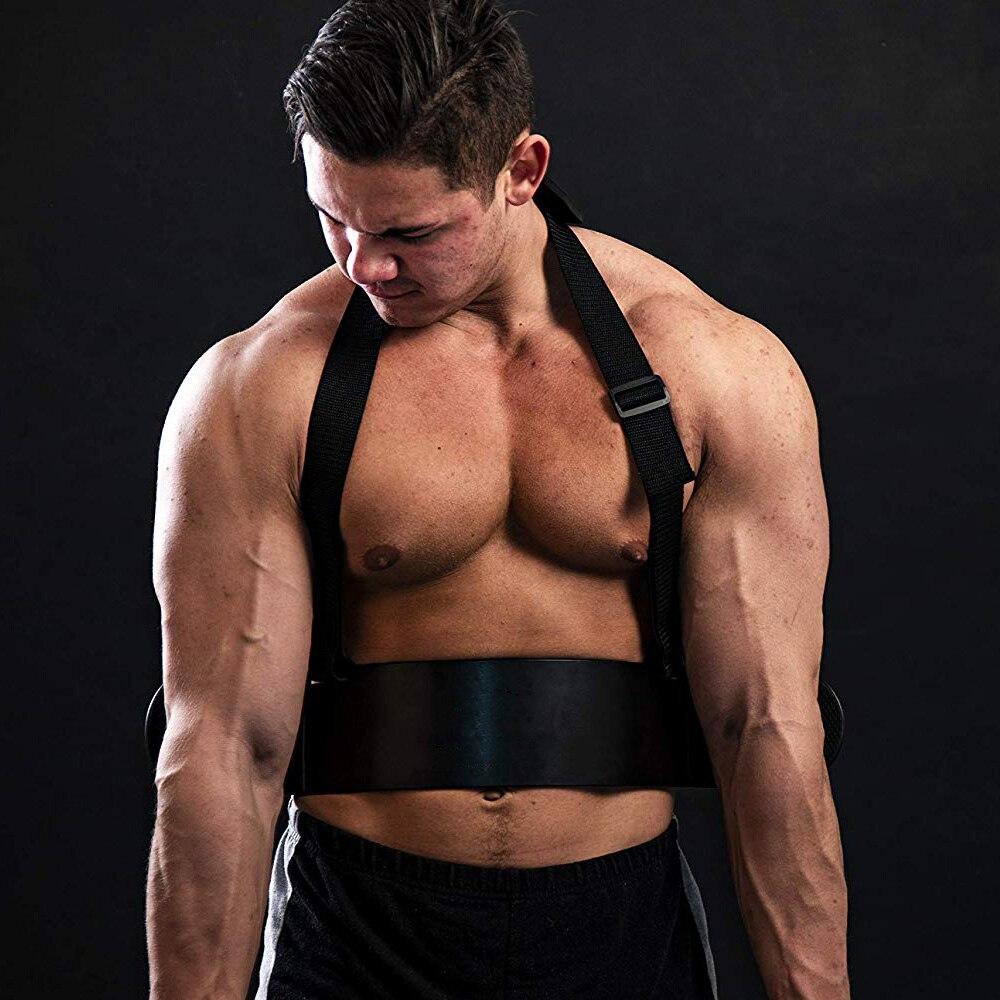 Бицепс с регулируемой рукояткой, алюминиевый корпус, бодибилдинг, бицепс, Трицепс, Тренировка мышц, тренажер для спортзала, поднятия тяжест...