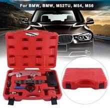 Oversea Kit doutils de chronométrage   9 pièces de moteur de voiture, verrouillage de larbre à cames pour BMW M52 M52TU M54 M56 moteur, outil de réglage de chronométrage
