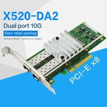 FANMI X520-DA2 10gbase pci express x8 82599ES układu podwójny port adapter do sieci ethernet E10G42BTDA, SFP nie jest wliczony w cenę