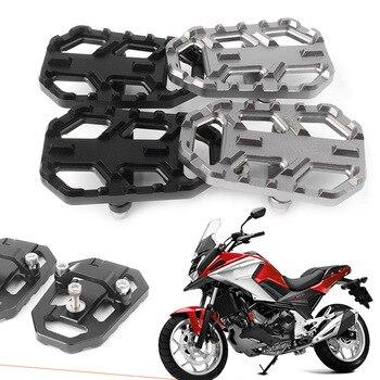 CNC Aluminum Motorbike Foot Pegs Footpegs Footrests For Honda NC700X NC700S 2012-2014 & NC750X NC750S 2014 2015 2016 2017 2018