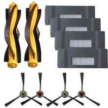 Agitateur brosses principales brosses latérales filtres pour Ecovacs Ecovacs Deebot M80 Pro M81 M85 M88 R95 R96 R98 robot aspirateur