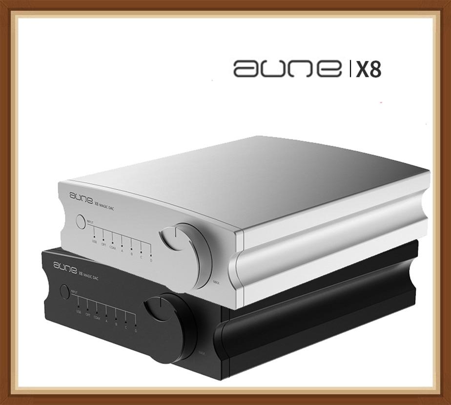 AUNE X8 HIFI DAC Audio Decoder ES9038Q2M USB DAC Amp DSD512 Coaxial Optical PCM32bit 768kHz For iPhone Sony Shanling Android