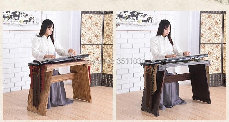 Zither و Guqin-طاولات ومقاعد يمكن مفككة ، من أجل تقليد الخط القديم للشاي