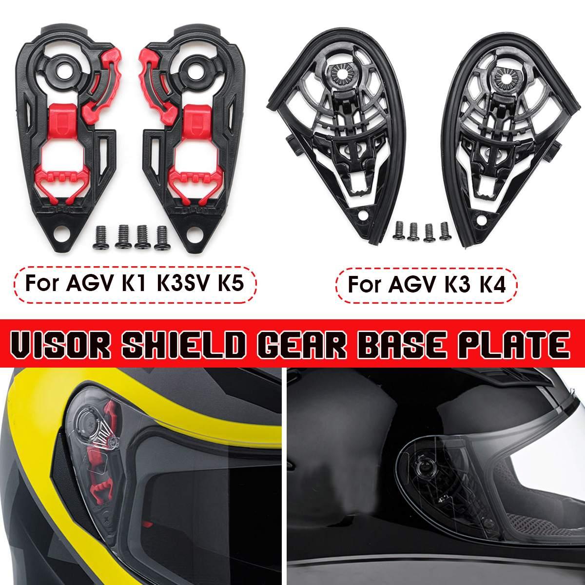 Мотоциклетный шлем козырек щит Шестерня Базовая пластина для AGV K1 K3SV K5/K3 K4