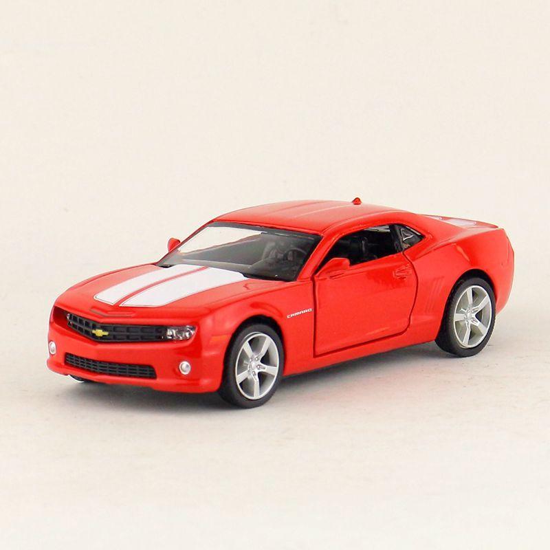Simulação de alta Requintado Diecasts & Toy Veículos RMZ city Car Styling Chevrolet Camaro Bumblebee 136 Alloy Diecast Modelo de Brinquedo
