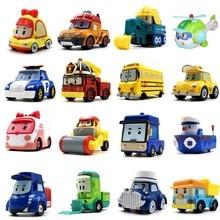 23 Style enfants jouets Anime figurines Anba voiture jouets Robocar Poli métal modèle jouet voiture pour enfants cadeaux de noël
