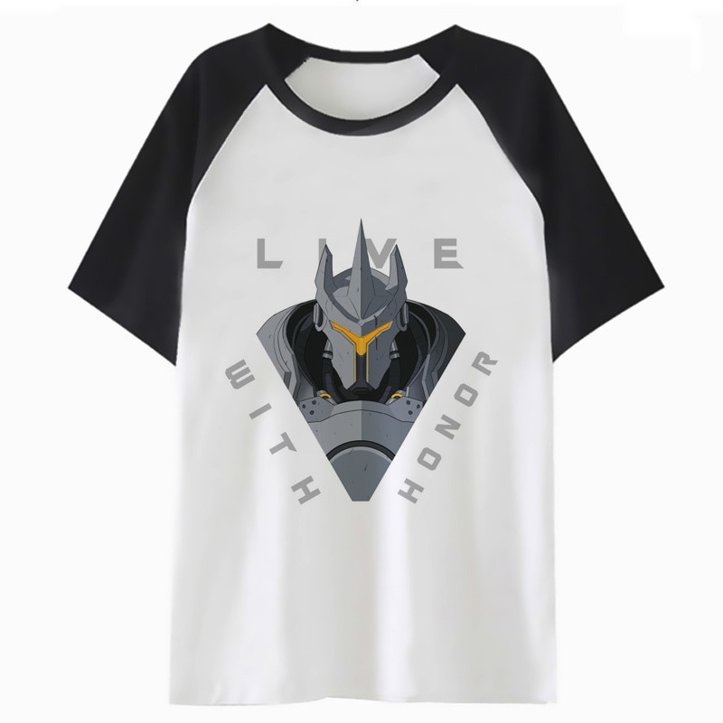 reinhardt t shirt male men tshirt funny harajuku hip tee clothing for t-shirt streetwear top hop H2263