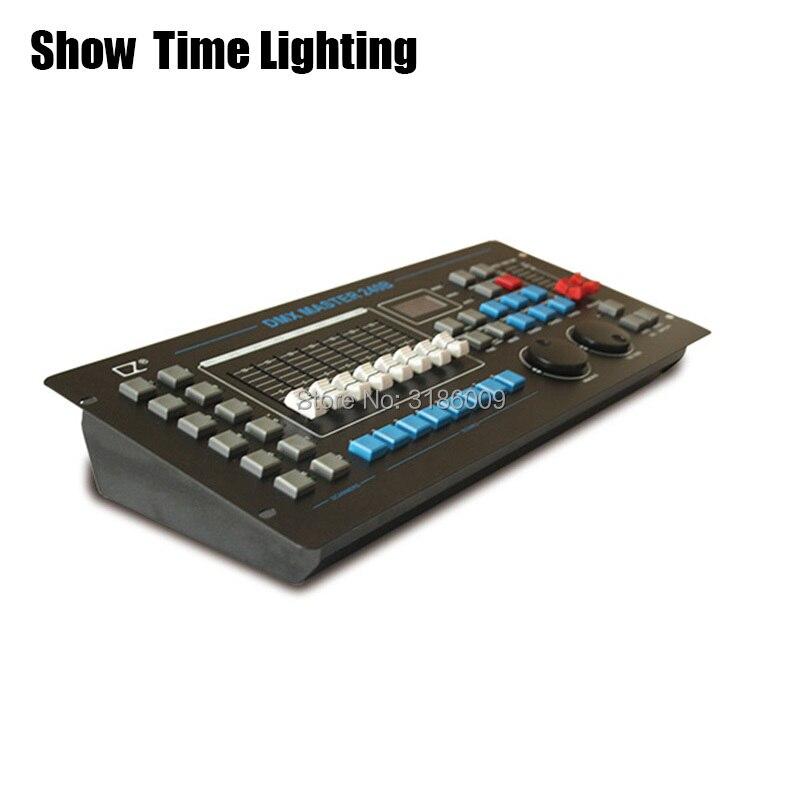 Hot Sale 240B DMX Master Controller Console Stage Lighting DJ Equipment 512 For LED Par Moving Head Spotlights