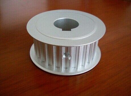 China fábrica buen precio 15mm ancho HTD8M tipo 20 dientes 15mm agujero aluminio correa de distribución polea