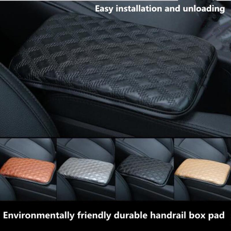 Coche nuevo centro de estilo consola almohadillas de compartimento reposabrazos para coche protección cojín para Cadillac SRX CTS ats escalade sts dts bls