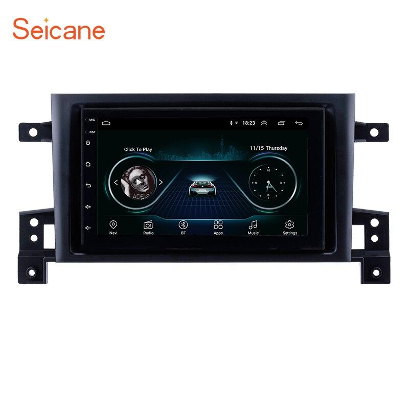 "Seicane Android 8,1 7 ""головное устройство для SUZUKI GRAND VITARA 2005 2006 2007 2008-2015 радио аудио автомобиля GPS мультимедиа плеер 2DIN"