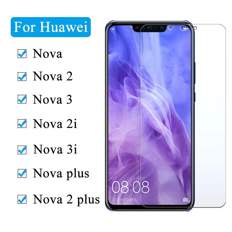 2.5D 9H Glass For Huawei Nova 4 3 3i 2i Plus Protective Glass Film On For Hauvei Nova 4 2 I2 I3 Tempered Glass Screen Protector