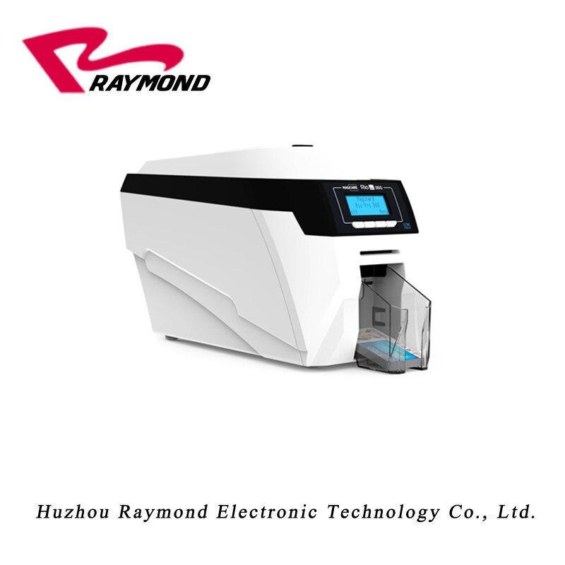 Magicard Rio Pro (aktualizacja do Rio Pro 360) dwustronne inteligentny drukarka do kart identyfikatorowych z dwoma MA300 YMCKO kolor wstążki