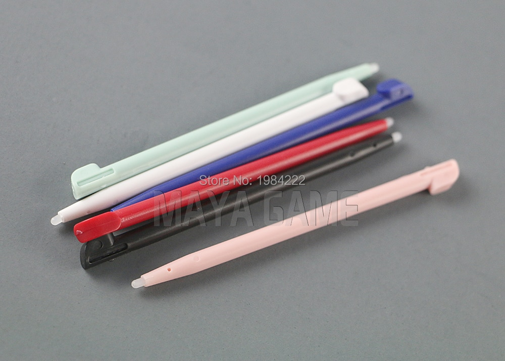 300 unids/lote nuevo lápiz óptico plástico pantalla táctil pluma para Nintend 2DS pantalla táctil lápiz óptico para Nintendo 2DS juego la consola