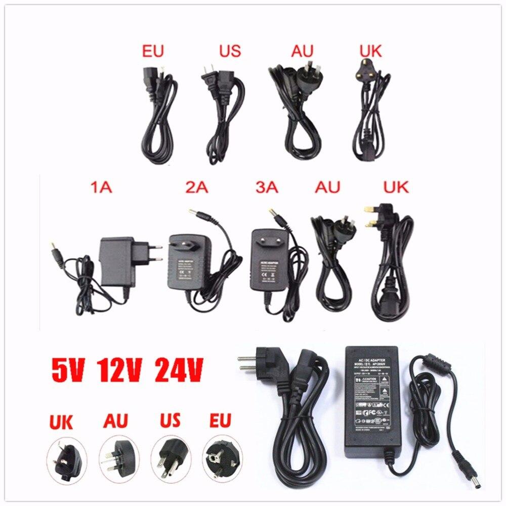 Power Adapter Supply DC 5V 12V 24V 1A 2A 3A 5A 6A 8A DC 5 12 24 V Volt Lighting Transformers LED Driver Power Adapter Strip Lamp недорого