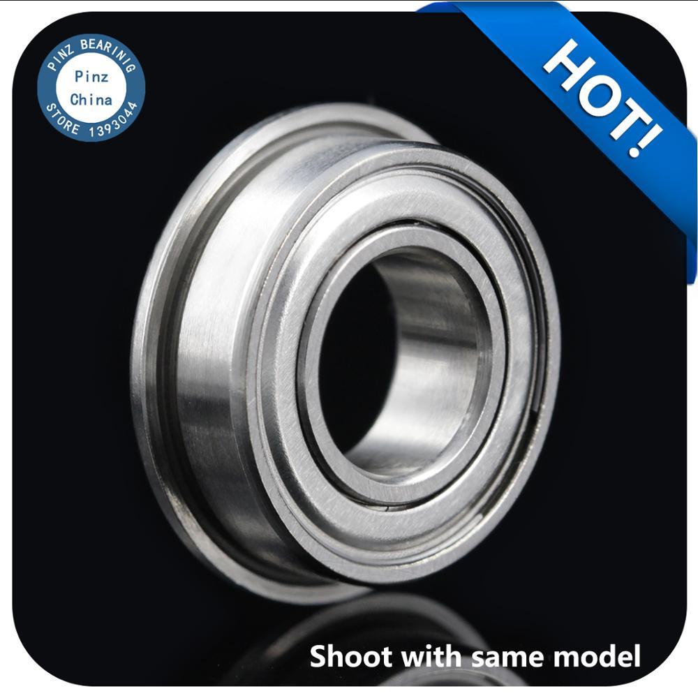 10 قطعة F606ZZ LF-1760ZZ 6*17*6mm شفة تحمل مصغرة flangebearing شفة أخدود عميق الكرة تحمل