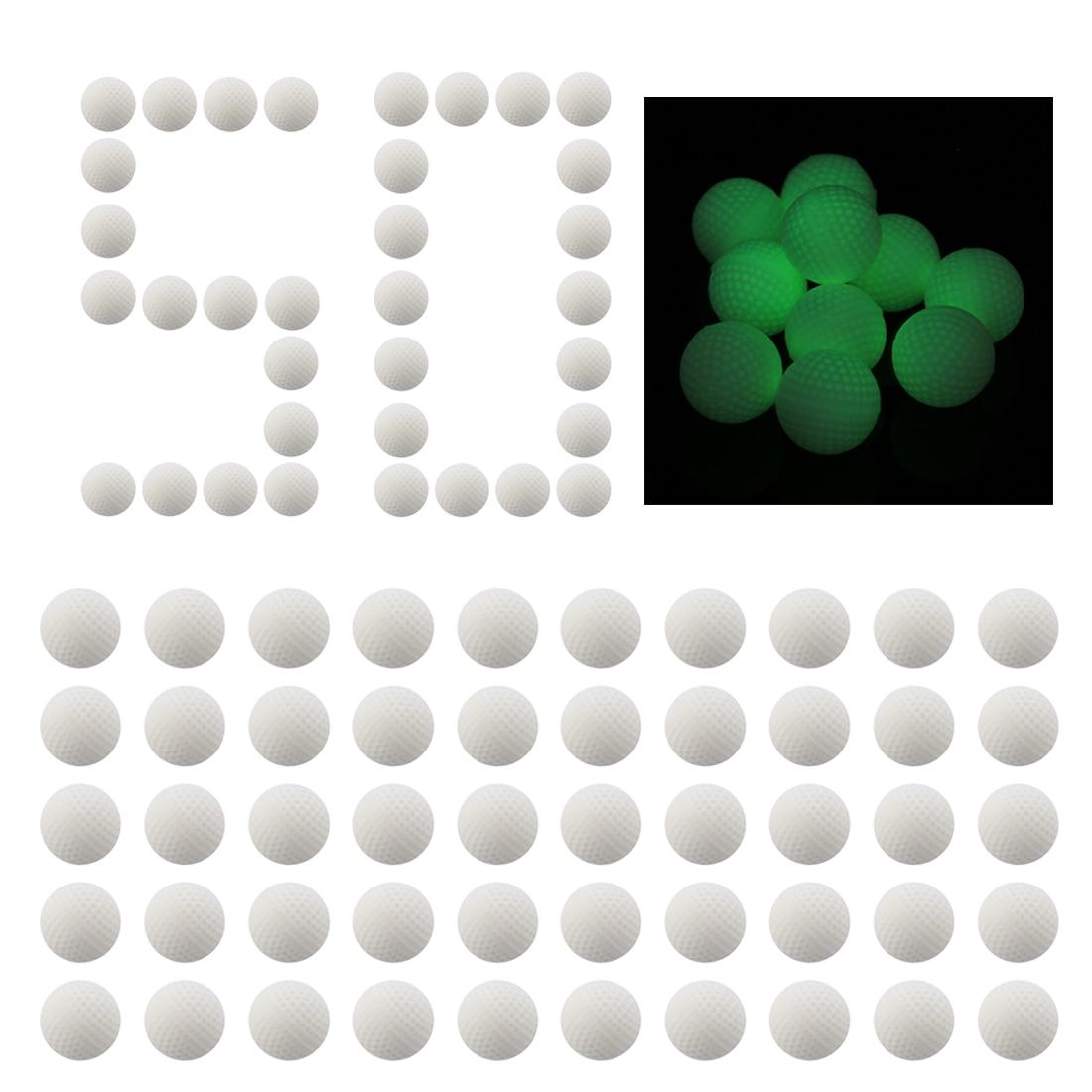 50/100 Uds. Tirador de bola de bala recargado General para serie Nerf Rival-blanco con luces nocturnas juegos divertidos al aire libre para juguetes Nerf