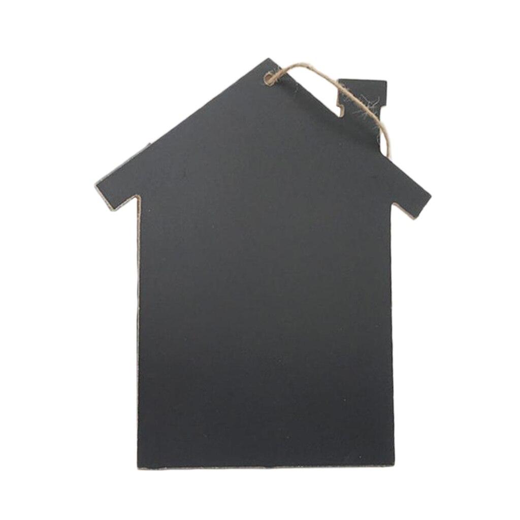 Деревянная доска для высечки, доска для записей, черная доска для офисных и школьных принадлежностей