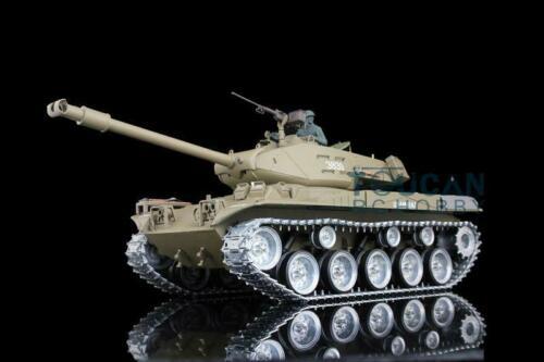 Henglong 1/16 6,0 guerra infrarroja personalizada Walker Bulldog RTR RC Tank 3839 ruedas de pistas de Metal TH12521