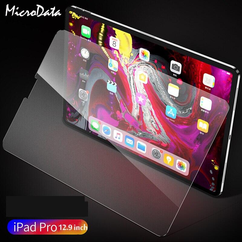 Para Apple iPad Pro 12,9 (2018) Protector de pantalla de la tableta vidrio templado mate esmerilado para Apple iPad Pro 12,9 2015 2016 2017 2018