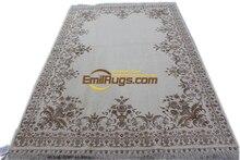 Plush Wool French Savonnerie Hand Made Rug Carpet Art Carpet Camel - Coloured Runnercarpet With  Carpet For Bedroom
